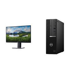 OPTIPLEX 7080 SFF I7-10500 8GB[1X8GB 2666-DDR4] 256GB[M.2-SSD] + MONITOR 23.8IN P2419HE FOR ADDITIONAL $99EX - PROMO BUNDLE