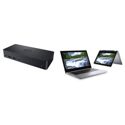DELL LATITUDE 3310 2-IN-1 I5-8265U 8GB[1X8GB 2400-DDR4] 256GB[M.2-SSD] + D6000 USB-C UNIVERSAL DOCK SUPPORT FOR ADDITIONAL $99EX - BUNDLE PROMOTION