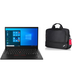THINKPAD X1-C8 14.0IN I7-10510U 16G 512G W10P 3YO + BAG(4X40E77328) & MOUSE(4X30M56887)