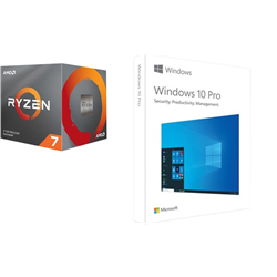 AMD & MICROSOFT BUILD-YOUR-OWN PC BUNDLE - RYZEN 7 3700X & WIN 10 PRO
