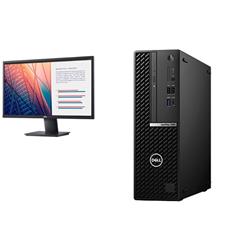 OPTIPLEX 7080 SFF I7-10700 16GB[2X8GB 2666-DDR4] 512GB[M.2-SSD] + MONITOR 23.8IN E2420H FOR ADDITIONAL $49EX - PROMO BUNDLE