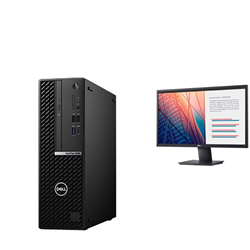 OPTIPLEX 5080 SFF I7-10700 16GB[2X8GB 2666-DDR4] 1TB[HDD-7.2] + MONITOR 23.8IN E2420H FOR ADDITIONAL $49EX - PROMO BUNDLE