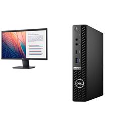 OPTIPLEX 7080 MFF I5-10500T 16GB[1X16GB 2666-DDR4] 256GB[M.2-SSD] + MONITOR 23.8IN E2420H FOR ADDITIONAL $49EX - PROMO BUNDLE
