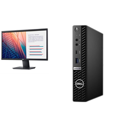 OPTIPLEX 5080 MICRO I7-10700T 8GB[1X8GB 2666-DDR4] 256GB[M.2-SSD] + BONUS MONITOR 23.8IN E2420H - PROMO BUNDLE