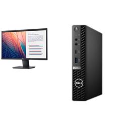 OPTIPLEX 5080 MFF I5-10500T 16GB[1X16GB 2666-DDR4] 256GB[M.2-SSD] + MONITOR 23.8IN E2420H FOR ADDITIONAL $49EX - PROMO BUNDLE