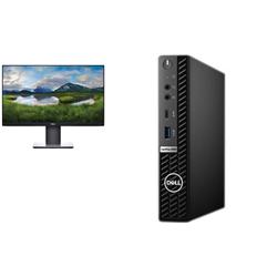OPTIPLEX 5080 MICRO I7-10700T 8GB[1X8GB 2666-DDR4] 256GB[M.2-SSD] + MONITOR 23IN P2319HE FOR ADDITIONAL $29EX - PROMO BUNDLE
