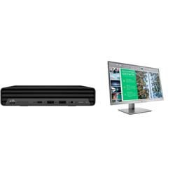 HP 400 G6 DM I5-10500T PLUS DUAL HP ELITEDISPLAY E243 MONITOR (1FH47AA)