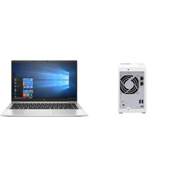HP 840 G7 I7-10610U PLUS QNAP NAS 2BAY WITH 1 X 4TB HDD (TS-231K)