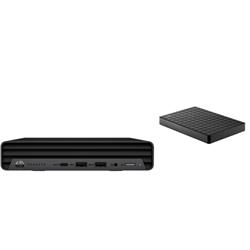 HP 400 G6 DM I5-10500T PLUS BONUS SEAGATE 1TB EXTERNAL HDD (STEA1000400)