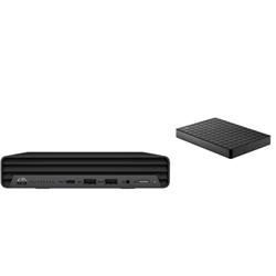 HP 800 G6 DM I5-10500T PLUS BONUS SEAGATE 1TB EXTERNAL HDD (STEA1000400)