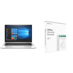 HP X360 830 G7 I5-10210U PLUS MICROSOFT OFFICE H&B 2019