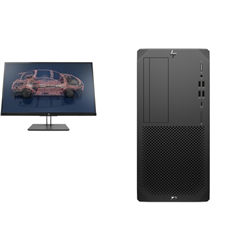 Z2 TOWER G5 I7-10700 32GB 512GB 1TB P1000 + Z27N G2 27IN QHD MONITOR (16:9)