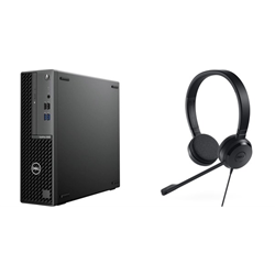 DELL OPTIPLEX 3080 SFF I5-10500- 8GB- 1TB & UC150 HEADSET