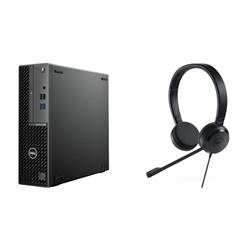 DELL OPTIPLEX 3080 SFF- I5-10500- 8GB- 256GB & UC150 HEADSET