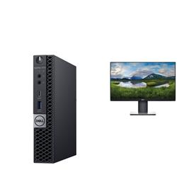 OPTIPLEX 7070 MICRO I5-9500T 8GB(1X8GB 2666-DDR4) 256GB(M.2-SSD) + MONITOR 23IN P2319HE FOR ADDITIONAL $1EX - PROMO BUNDLE