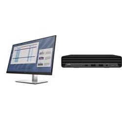 ED 800 G6 DM I7-10700T 16GB 512GB + E-SERIES E27 G4 27IN IPS (16:9) MONITOR
