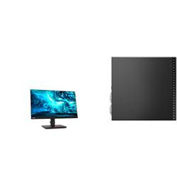 THINKCENTRE M80Q-1 TINY I5-10500T 16GB RAM 256GB SSD WIFI+BT WIN10 PRO 3YROS + LENOVO T23I MONITOR(61F6MAR2AU)