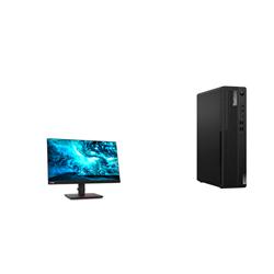 THINKCENTRE M80S-1 SFF I9-10900 16GB RAM 512GB SSD WIFI+BT DVDRW WIN10 PRO 3YROS + LENOVO T23I MONITOR(61F6MAR2AU)