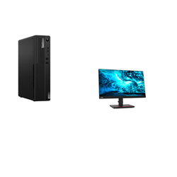 THINKCENTRE M80S-1 SFF I7-10700 8GB RAM 256GB SSD WIFI+BT DVDRW WIN10 PRO 3YROS + LENOVO T23I MONITOR(61F6MAR2AU)