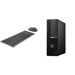 OPTIPLEX 7080 SFF I5-10500 16GB[2X8GB 2666-DDR4] 256GB[M.2-SSD] + WIRELESS KEYBOARD & MOUSE COMBO KM7120W FOR ADDITIONAL $1EX - PROMO BUNDLE