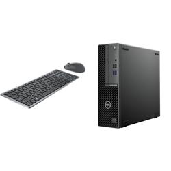 OPTIPLEX 3080 SFF I5-10500 8GB[1X8GB 2666-DDR4] 1TB[HDD-7.2] + WIRELESS KEYBOARD & MOUSE COMBO KM7120W FOR ADDITIONAL $1EX - PROMO BUNDLE