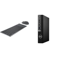 OPTIPLEX 5080 MICRO I5-10500T 8GB[1X8GB 2666-DDR4] 256GB[M.2-SSD] + WIRELESS KEYBOARD & MOUSE COMBO KM7120W FOR ADDITIONAL $1EX - PROMO BUNDLE
