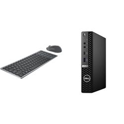 OPTIPLEX 7080 MFF I5-10500T 16GB[1X16GB 2666-DDR4] 256GB[M.2-SSD] + WIRELESS KEYBOARD & MOUSE COMBO KM7120W FOR ADDITIONAL $1EX - PROMO BUNDLE