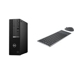 OPTIPLEX 7080 SFF I5-10500 8GB[1X8GB 2666-DDR4] 256GB[M.2-SSD] + WIRELESS KEYBOARD & MOUSE COMBO KM7120W FOR ADDITIONAL $1EX - PROMO BUNDLE