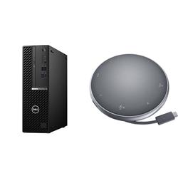 OPTIPLEX 5080 SFF I5-10500 16GB[2X8GB 2666-DDR4] 256GB[M.2-SSD] + APOLLO MOBILE ADAPTER SPEAKERPHONE FOR ADDITIONAL $1EX - PROMO BUNDLE