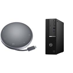 OPTIPLEX 7080 SFF I7-10500 8GB[1X8GB 2666-DDR4] 256GB[M.2-SSD] + APOLLO MOBILE ADAPTER SPEAKERPHONE FOR ADDITIONAL $1EX - PROMO BUNDLE