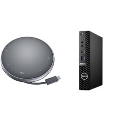 OPTIPLEX 5080 MICRO I7-10700T 8GB[1X8GB 2666-DDR4] 256GB[M.2-SSD] + APOLLO MOBILE ADAPTER SPEAKERPHONE FOR ADDITIONAL $1EX - PROMO BUNDLE