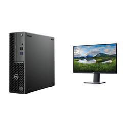 OPTIPLEX 3080 SFF I5-10500 8GB[1X8GB 2666-DDR4] 1TB[HDD-7.2] + MONITOR 23.8IN P2419HE FOR ADDITIONAL $99EX - PROMO BUNDLE