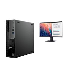 OPTIPLEX 3080 SFF I5-10500 8GB[1X8GB 2666-DDR4] 1TB[HDD-7.2] + MONITOR 23.8IN E2420H FOR ADDITIONAL $49EX - PROMO BUNDLE