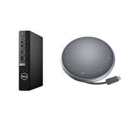 OPTIPLEX 7080 MFF I5-10500T 16GB[1X16GB 2666-DDR4] 256GB[M.2-SSD] + APOLLO MOBILE ADAPTER SPEAKERPHONE FOR ADDITIONAL $1EX - PROMO BUNDLE