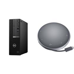 OPTIPLEX 7080 SFF I5-10500 16GB[2X8GB 2666-DDR4] 256GB[M.2-SSD] + APOLLO MOBILE ADAPTER SPEAKERPHONE FOR ADDITIONAL $1EX - PROMO BUNDLE