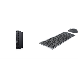 OPTIPLEX 3080 MFF I5-10500T 8GB[1X8GB 2666-DDR4] 1TB[HDD-7.2] + WIRELESS KEYBOARD & MOUSE COMBO KM7120W FOR ADDITIONAL $1EX - PROMO BUNDLE