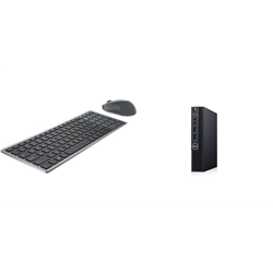 OPTIPLEX 3080 MFF I5-10500T 8GB[1X8GB 2666-DDR4] 256GB[M.2-SSD] + WIRELESS KEYBOARD & MOUSE COMBO KM7120W FOR ADDITIONAL $1EX - PROMO BUNDLE