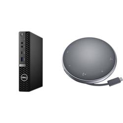 OPTIPLEX 5080 MICRO I5-10500T 8GB[1X8GB 2666-DDR4] 256GB[M.2-SSD] + APOLLO MOBILE ADAPTER SPEAKERPHONE FOR ADDITIONAL $1EX - PROMO BUNDLE
