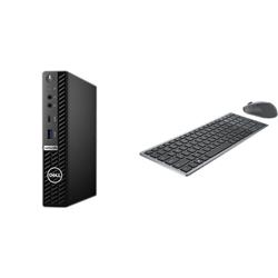 OPTIPLEX 5080 MFF I5-10500T 16GB[1X16GB 2666-DDR4] 256GB[M.2-SSD] + WIRELESS KEYBOARD & MOUSE COMBO KM7120W FOR ADDITIONAL $1EX - PROMO BUNDLE