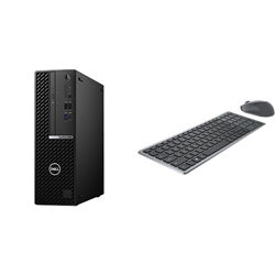 OPTIPLEX 5080 SFF I7-10700 16GB[2X8GB 2666-DDR4] 1TB[HDD-7.2] + WIRELESS KEYBOARD & MOUSE COMBO KM7120W FOR ADDITIONAL $1EX - PROMO BUNDLE