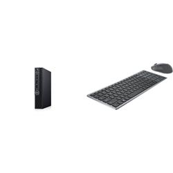 OPTIPLEX 3080 MFF I5-10500T 8GB[1X8GB 2666-DDR4] 128GB[M.2-SSD] + WIRELESS KEYBOARD & MOUSE COMBO KM7120W FOR ADDITIONAL $1EX - PROMO BUNDLE