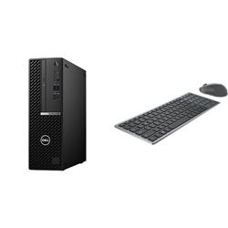 OPTIPLEX 5080 SFF I5-10500 16GB[2X8GB 2666-DDR4] 256GB[M.2-SSD] + WIRELESS KEYBOARD & MOUSE COMBO KM7120W FOR ADDITIONAL $1EX - PROMO BUNDLE