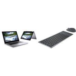 DELL LATITUDE 3310 2-IN-1 I5-8265U 16GB[1X16GB 2400-DDR4] 256GB[M.2-SSD] 13.3IN[FHD-TOUCH] + WIRELESS KEYBOARD & MOUSE COMBO KM7120W FOR ADDITIONAL $1EX - PROMO BUNDLE
