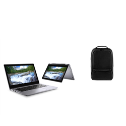 DELL LATITUDE 3310 2-IN-1 I5-8265U 16GB[1X16GB 2400-DDR4] 256GB[M.2-SSD] 13.3IN[FHD-TOUCH] + DELL PREMIER SLIM BACKPACK 15 (PE1520PS) FOR ADDITIONAL $1EX - PROMO BUNDLE
