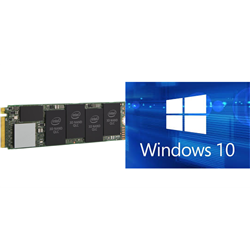 PURCHASE INTEL 660P M.2 512GB SSD WITH MICROSOFT OEM WINDOWS 10 PRO AND SAVE $30EX