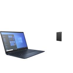 HP DRAGONFLY X360 G2 I5-1145 PLUS SEAGATE 2TB BLK EXTERNAL HDD