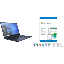 HP DRAGONFLY X360 G2 I7-1167 PLUS MS 365 BUS STD - 1YR SUBS BOX