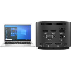 HP ELITEBOOK 1030 X360 G8 I7-1165PLUS HP THUNDERBOLT DOCK 120W G2