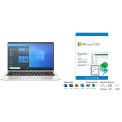 HP ELITEBOOK 1040 X360 G8 I5-1145PLUS MS 365 BUS STD - 1YR SUBS BOX