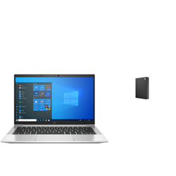 HP ELITEBOOK 830 G8 I7-1165 PLUS SEAGATE 4TB BLK EXTERNAL HDD